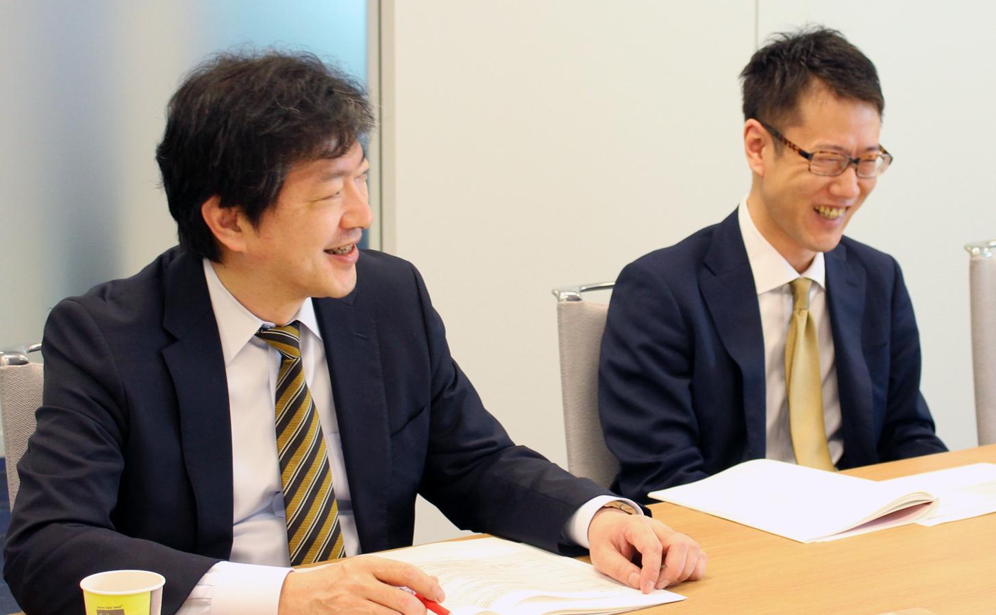 ADL大原パートナー(左)/増井マネージャー(右)